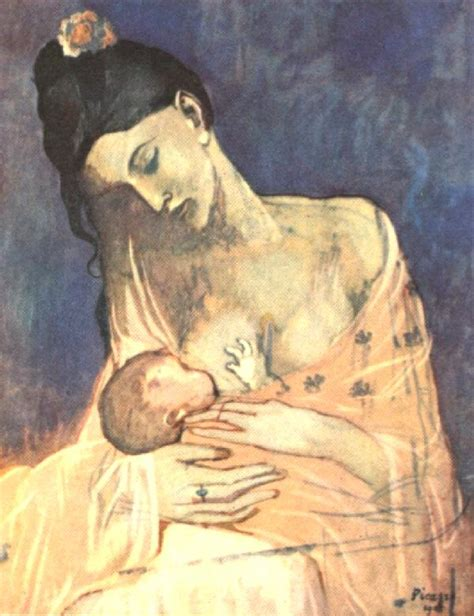 picasso paintings as a child picasso mother and child 1905 nome muckin around