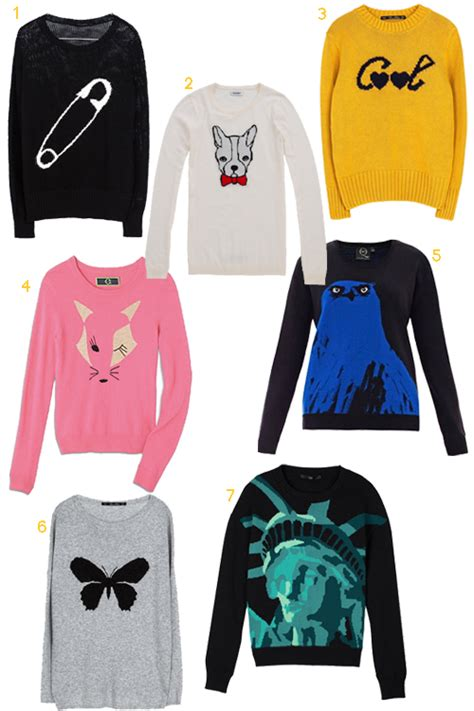 graphic knit sweaters get the look 25 graphic intarsia knit sweaters stylecarrot