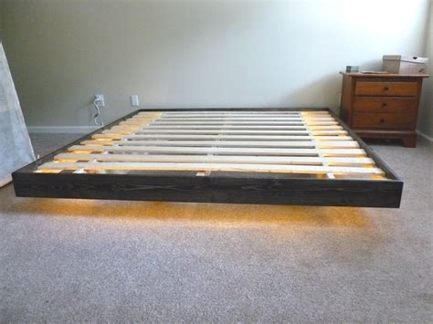 do it yourself bed frame diy floating bed frame do it yourself diy bed frames by