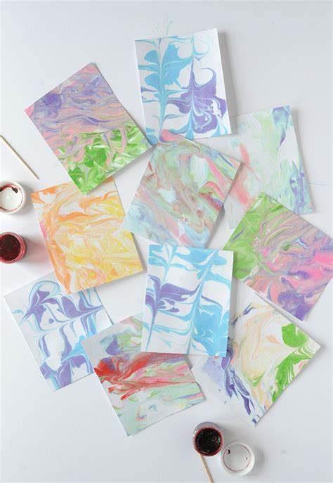 marbled paper craft 17 best images about crafts on