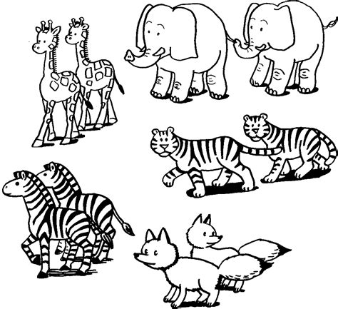 coloring book pictures of animals coloring pictures of animals coloring ville