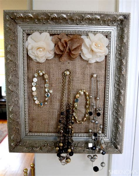 Diy Hanging Jewelry Display