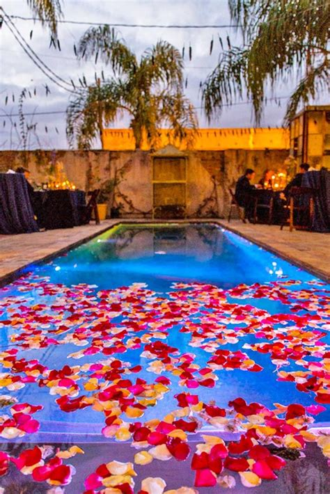 swimming pool decorations 25 best ideas about backyard wedding pool on