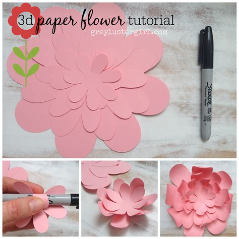 how to make paper flower craft paper flowers wall