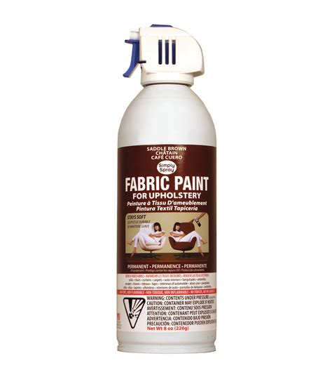 in the fabric paint upholstery spray fabric paint 8oz saddle brown at joann