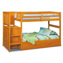 ranger bunk bed with storage stairs