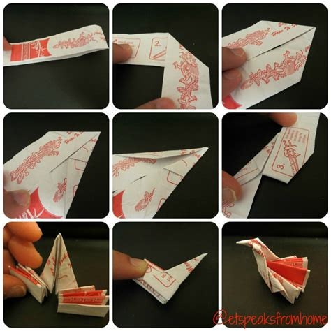 chopstick rest origami how to make an origami chopstick stand et speaks from home