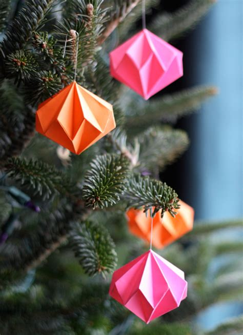 origami ornament origami ornaments how about orange
