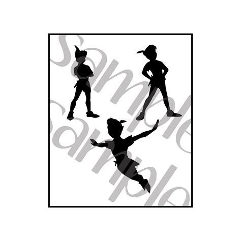disney peter pan silhouette clip art