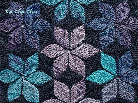 hexagon knitting pattern free hexagon kaleidoscope patchwork knitting pattern by