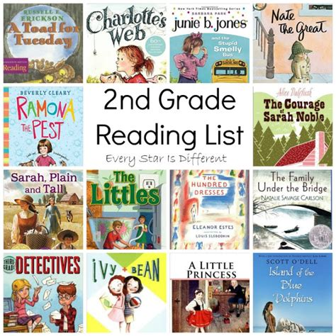 picture books for 2nd graders 2nd grade reading list every is different