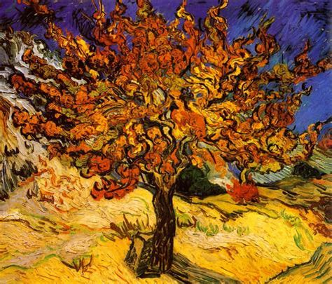 tree c the mulberry tree c 1889 photo by vincent gogh at