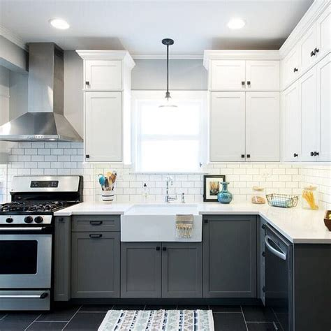 Two Tone Kitchen Cabinet Ideas 17 best ideas about off white cabinets on pinterest