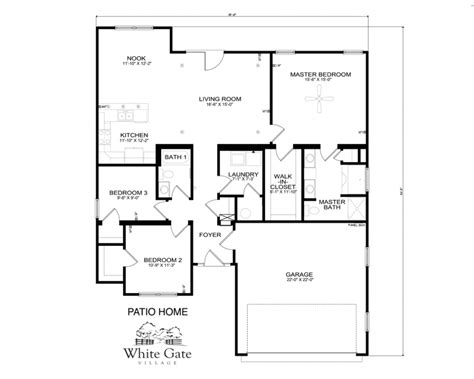 new home floor plans free floorplans within patio home plans thehomelystuff intended for patio home floor plans free