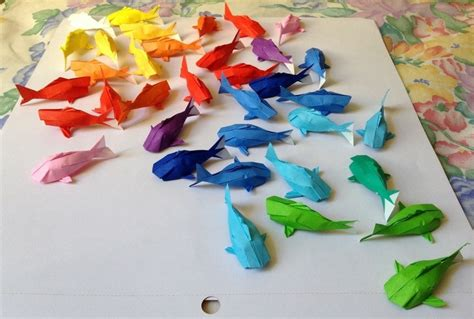how to make an origami koi fish step by step wall of rainbow koi 183 how to fold an origami fish
