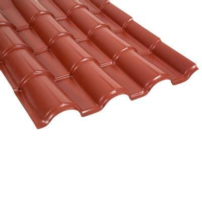techos de polipropileno fibraforte techo de polipropileno tejaforte rojo 1 15 x