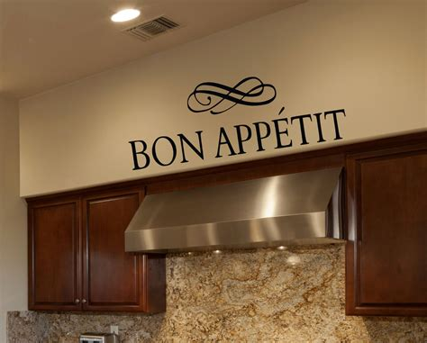 bon appetit kitchen collection kitchen wall decals bon appetit wall decals by amanda s designer decals unmatched quality