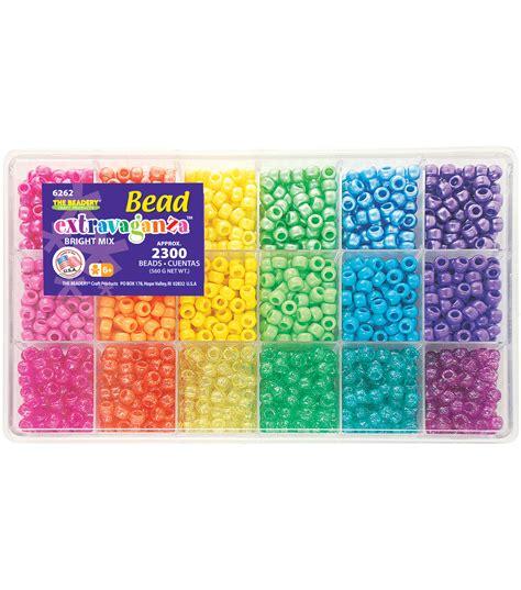 beading kit bead extravaganza bead box kit 19 75oz pkg brights jo