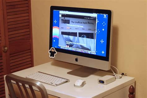 computer desk imac desk for 27 inch imac whitevan