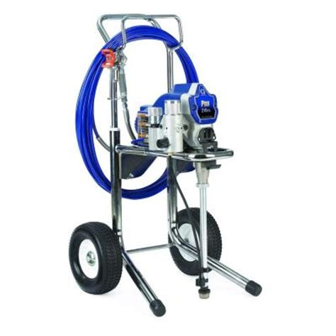 home depot paint sprayers graco pro 210es airless paint sprayer 261830 the home depot
