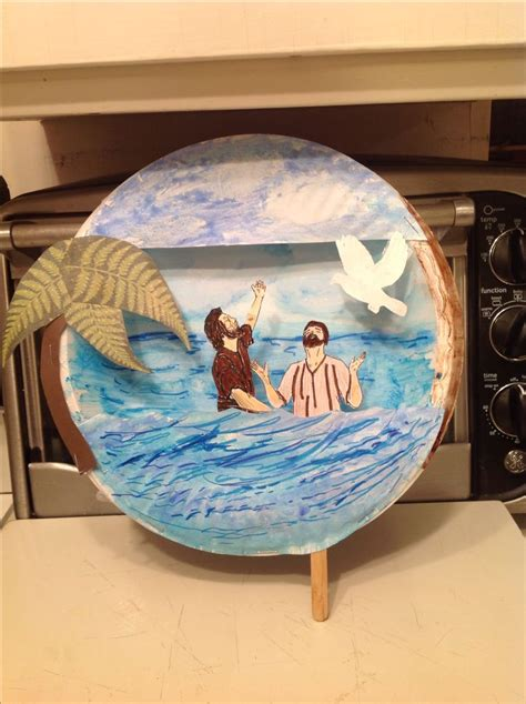 baptism crafts for to make best 25 jesus baptism craft ideas on when is