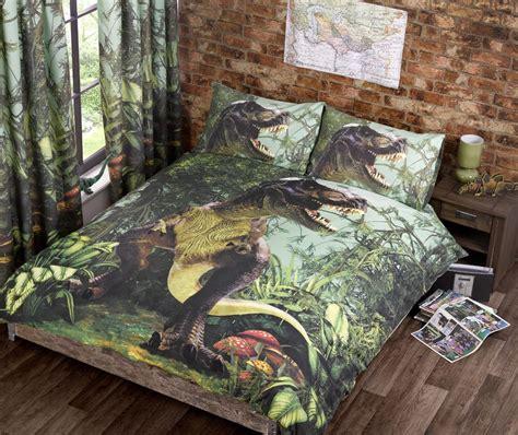 dinosaur bedding set jurassic world bedding trend t rex dinosaur quilt duvet