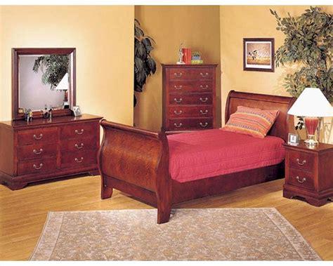 acme furniture bedroom acme furniture bedroom set in cherry ac08670tset
