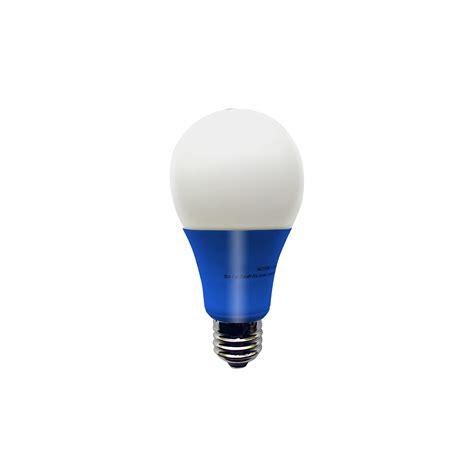 blue led light bulb illumin8 i8a deco blue a19 led light bulb non dimmable 4