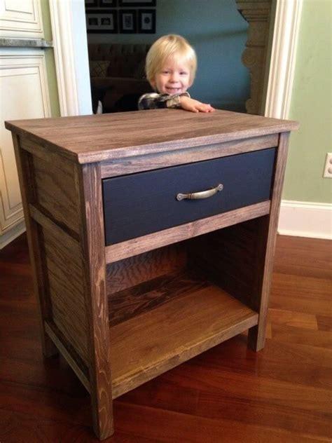 free nightstand woodworking plans diy cooper nightstand free plans rogue engineer