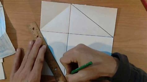 origami for teachers origami proof of pythagorean theorem an