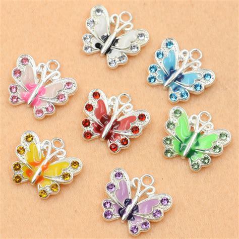make enamel jewelry aliexpress buy mixed silver plated enamel