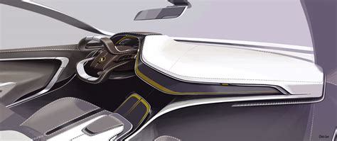 concept interior design bmw i6 concept interior design sketch car design