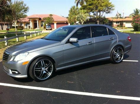 Mercedes E350 Rims by E350 Sedan With 20 Inch Rims Mbworld Org Forums