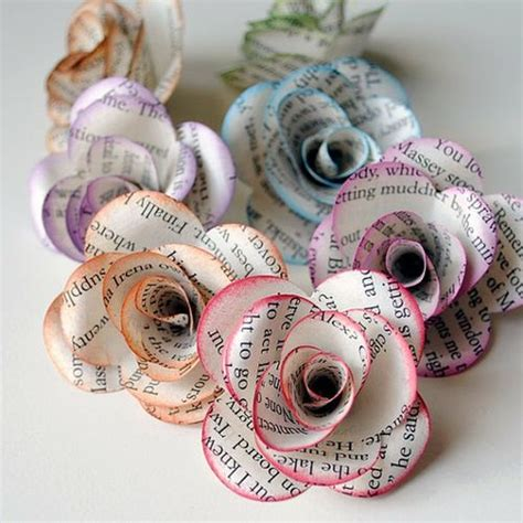 crafts with newspaper for 30 craft ideas