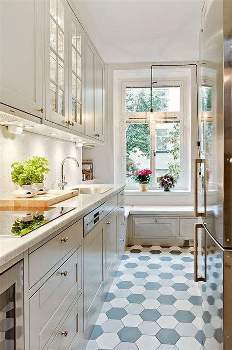 small kitchen tiles design 31 stylish and functional narrow kitchen design