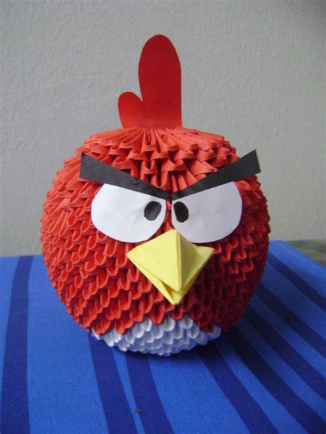 origami angry birds angry birds album meshell 3d origami