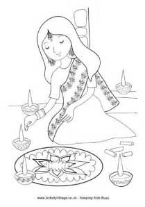 Free Printable Rangoli Coloring Pages For Kids L L L L L L L L L