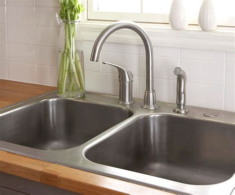 installing new kitchen faucet how to install a sink and faucet