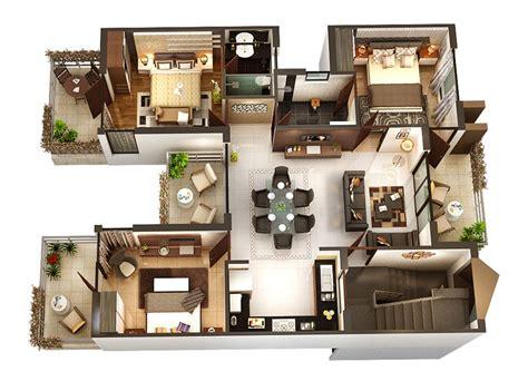 3 bedroom home floor plans 3 bedroom apartment house plans