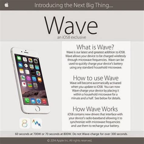 how to make an iphone work without a sim card ios 8 wave charging feature promotes microwaving your
