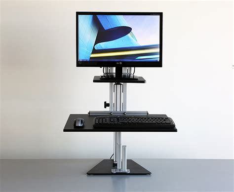 computer stand for desk rolling desktop computer stand review and photo