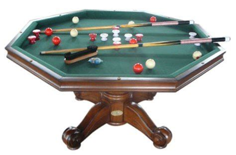 octagon bumper pool table berner billiards 3 in 1 table octagon 54 quot with bumper