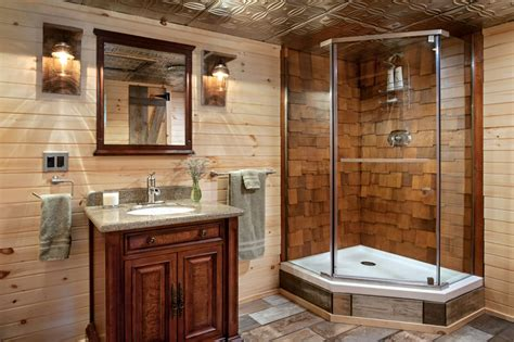 Log Home Bathroom Ideas by Log Home Bathroom Design Ideas