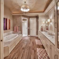 master bedroom and bathroom designs master bathroom hardwood floors large tub his and