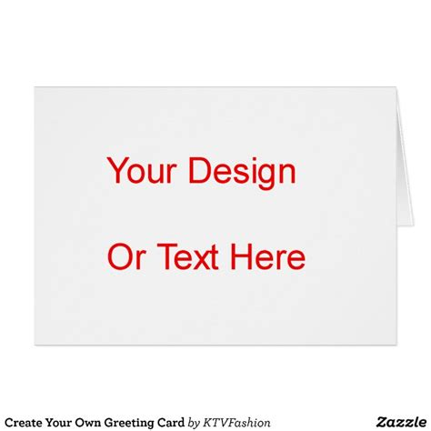 make your own cards create your own greeting card zazzle