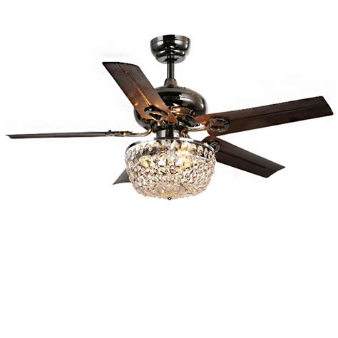 ceiling fans with chandelier light warehouse of 43 in indoor bronze 5 blade