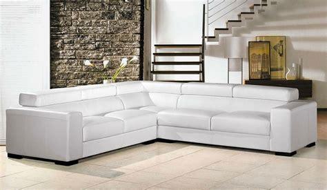white sectional sofa leather plushemisphere white leather sectional sofas