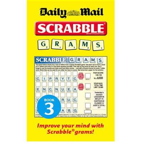 scrabble gram puzzles collins quot daily mail quot scrabble grams puzzle book no 3