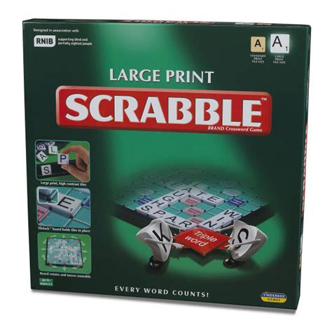 Scrabble Large Print Iwoot
