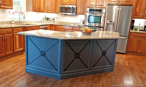paint kitchen island kitchen island update complete uniquely yours or mine